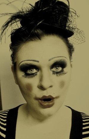 Character Makeup ~ some clowns give me nightmares 2010