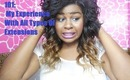 Hair Extensions 101: My Experience with All Types of Extensions