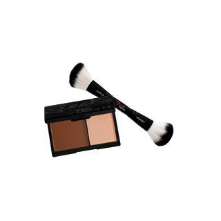 Sleek Makeup Face Contour Kit and Dual Ended Brush