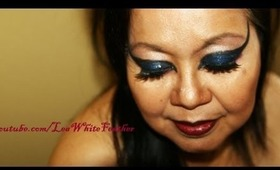 Glam Witchy/Sorceress Makeup for Halloween or a Costume Party