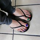 Summer Pedi/ Simple Colors