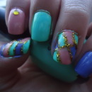 """My """"Easter"""" Nails."""