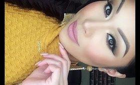 Spring Makeup ♡ Golds + Pinks