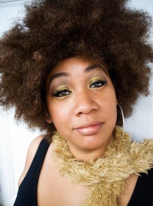Shazaam!  Foxy Cleopatra Makeup look for Halloween
