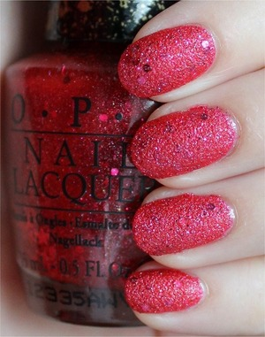 Liquid Sand from the Mariah Carey Collection. See more swatches & my review here: http://www.swatchandlearn.com/opi-the-impossible-swatches-review/