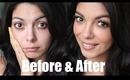 Makeup Transformation - Before and After