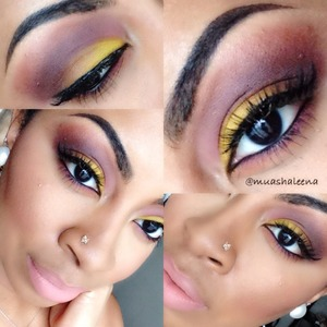 Check out my tutorial for this look on my channel at www.youtube.com/beautysosweet08 xoxo
