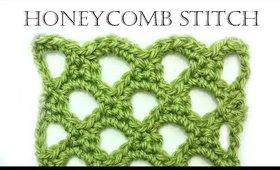 How to Crochet Honeycomb Stitch