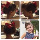 Little girl up-do