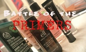 Random Review: Battle of the Primers| Elf, Victoria's Secret + MORE!!!