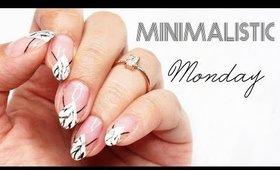 Minimalistic Monday No.22    Dark Marble Nails ♡