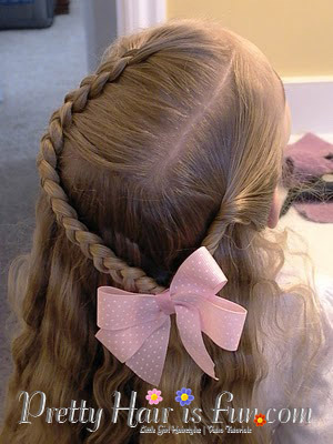 How to do a dutch braid with a side twist hairstyle