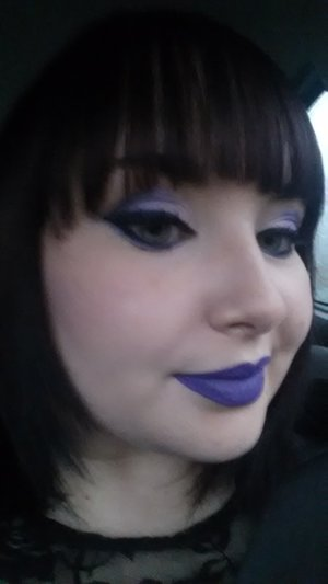 UD spectrum palette with Jeffree Star Im Royalty lips, a christmas gift from the most amazing girl in the world ;)