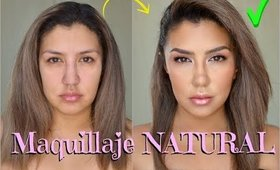 Maquillaje NATURAL PASO A PASO / Neutral natural makeup step by step | auroramakeup