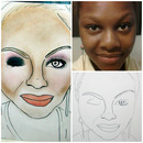 Brittany's Face Chart