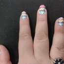 Easter nails I  did for Amanda