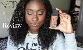 Review: NARS All Day Luminous Weightless Foundation For Oily Skin
