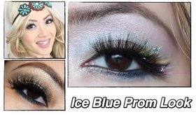 Ice Blue and Brown Tutorial- PROM and Mika for Shu Inspired