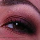 Burgundy and Brown Smoky Eye