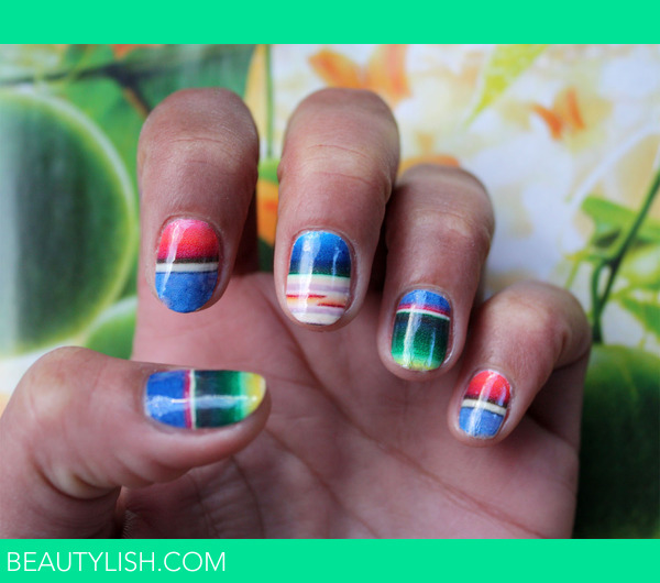 Mexican Blanket Nail Art Decals Shelby Rs Photo Beautylish
