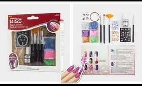 Opening Kiss Salon Secrets Nail Art Starter Kit