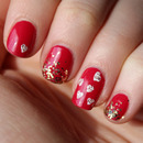 Red Hot Nail Art!