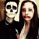 zombie nurse and dead man