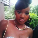 my sisters prom makeup I did