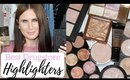 TOP 10 DRUGSTORE HIGHLIGHTERS UNDER £10!