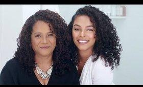 Transforming Mi Mama into me! (Skin, Curls & Makeup)