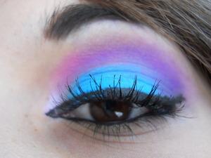 Electro Rave makeup!