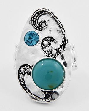 Turquoise Acrylic 12