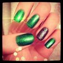 Emerald and Glitter