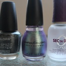 LA Colors, Sinful Colors, Orly Sec N Dry