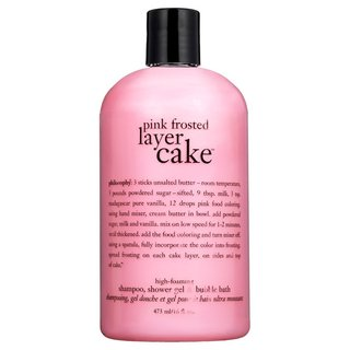 Philosophy Pink Frosted Layer Cake Shampoo, Shower Gel & Bubble Bath