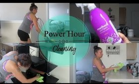 Clean With Me | Power Hour Cleaning