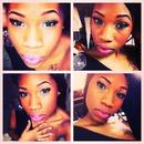 Green Eyes Pink Lips!!