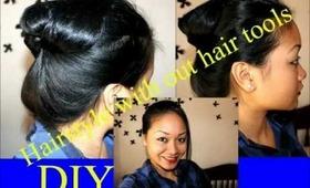 Hairstyle Tutorial Using  NO Hair Tools