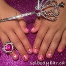 Sol Princess mani & pedi for girls 12 and under so cute!