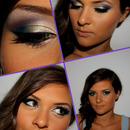 Purple&Green Make-up