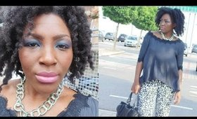 Get ready with me: smooky bleu & look bohemian chic:)