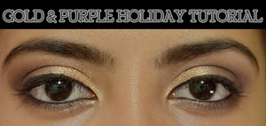 Holiday Series: Gold & Purple