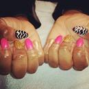 Glam Rock Stilleto Nails