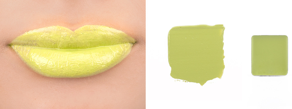Green Lipstick: Inglot Freedom System Color Play Lipstick #92