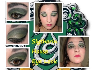 http://www.bethysbeautyspot.com/Easy-Slytherin-House-Makeup-Look-24535827