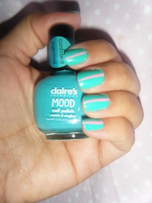 This polish is great but you need a top coat for it to look this shiny.