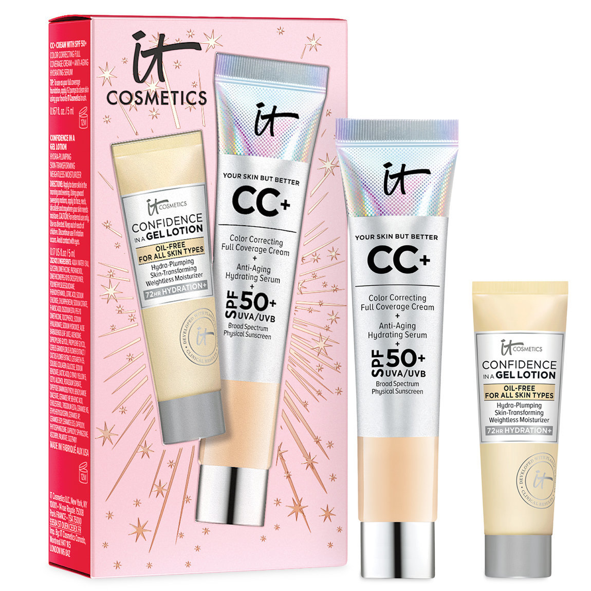 IT Cosmetics  Celebrate Confidence in Your Complexion CC+ Cream Set Light alternative view 1 - product swatch.