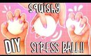 DIY SQUISHY STRESS BALL Without Balloons!! | How to make a Stress Ball SUPER EASY!!