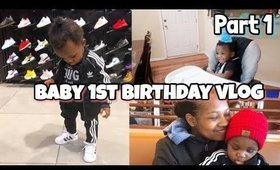Bam Bam's 1st Birthday Vlog Part 1 (Gifts, Cake and more)