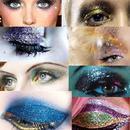 Amazing Glitter eye makeup!